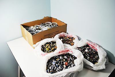 Beer Bottle Caps, Sold by the Pound, Assorted or specified color available