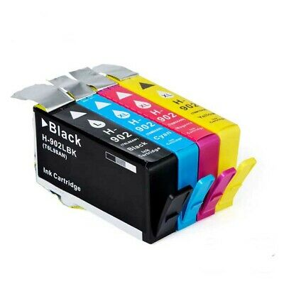 High Yield 4 INK NON-OEM for HP 902XL OfficeJet 6954 6962 6968 6978 HP902XL