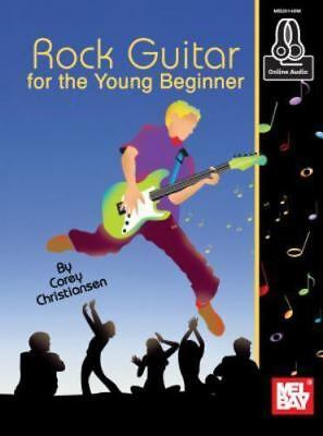 Mel Bay Rock Guitar For The Young Beginner Book Corey Christiansen with CD NEW