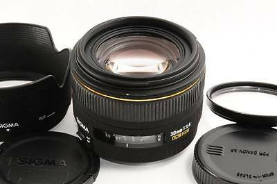 EXC SIGMA 30mm F1.4 DC HSM for Canon from Japan
