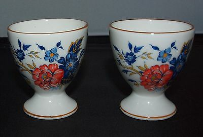Two Crown Staffordshire Egg Cups Pattern Penang