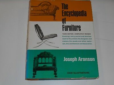 The Encyclopedia of Furniture by Joseph Aronson - 3rd Edition