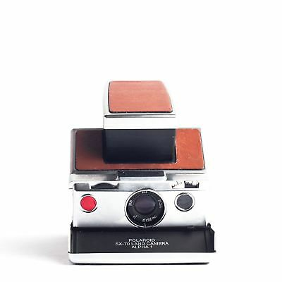 The Legendary Polaroid SX-70 Alpha One SLR instant camera