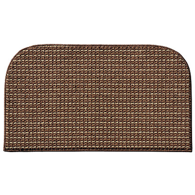 Garland Rug Berber Colorations Kitchen Slice Rug, 18-Inch by 30-Inch, Mocha