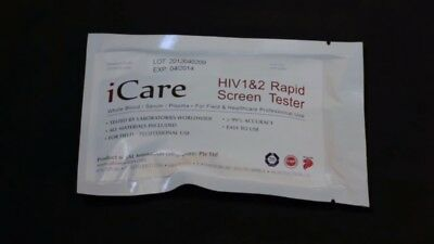Sample HIV 1 / 2 TEST KIT - GENUINE - made in singapore - 99.8% accuracy