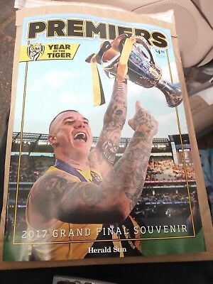 Richmond Tigers Premiers 2017 MAGAZINE 2017 AFL Grand Final Record Adelaide MCG