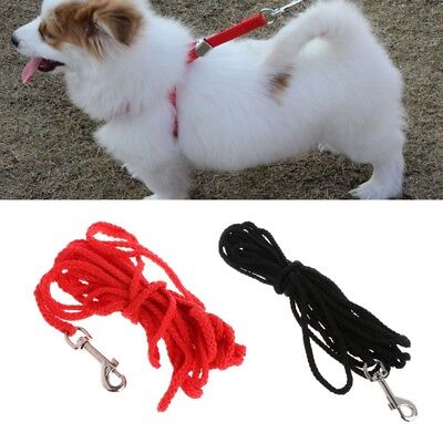 5/10/15M Pet Dog Leash Long Obedience Training Lead Recall Walking Rope Strap