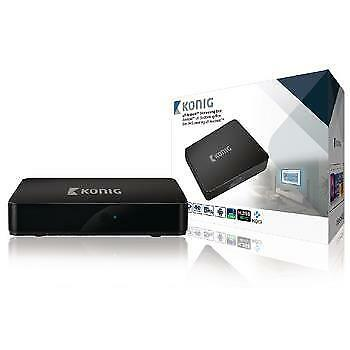 König, 4K Android Streaming-Box mit Fly Mouse (9739010821)