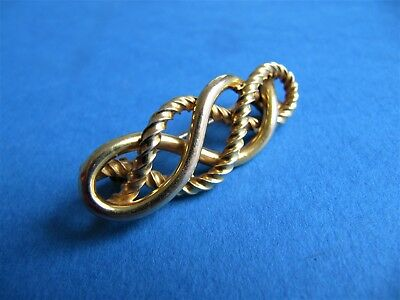 Very Fine Antique 19th Century Victorian 15ct Gold Brooch