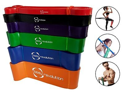 Exercise Resistance Bands - Heavy Duty Fitness Loop for Gym Workout Pull Up Yoga