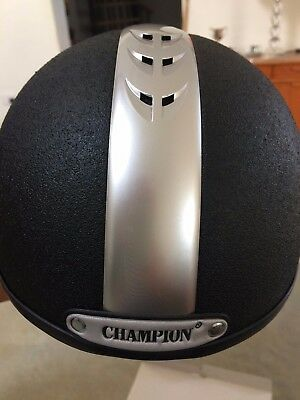 Champion Ventair Deluxe Adults Skull Helmet Horse Riding Hat 57cm size 7