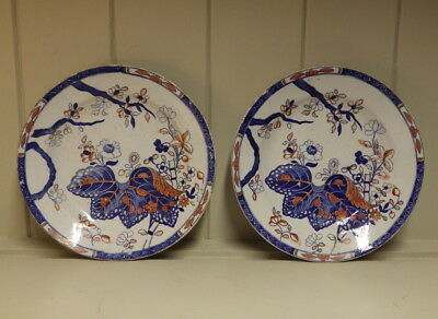 COPELAND AND GARRETT Early 19th Century Antique PAIR OF PLATES