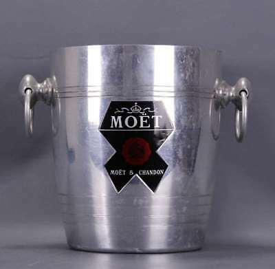MOET & CHANDON seau à champagne ancien French ice bucket wine cooler