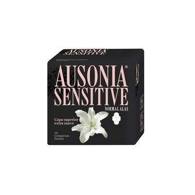 Ausonia Sensitive Alas Normal 14 uds