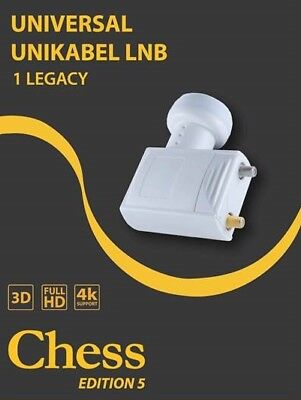 CHESS LNB SCR 1 LEGACY EDITION 5 Unikabel Unicable HD 3d 4K UltraHD