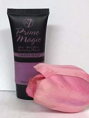 W7 PRIME MAGIC CAMERA READY ANTI DULL SKIN BALANCING PRIMER. SEALED 30ml XX