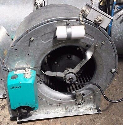 Centrifugal Fan blower squirrel cage extraction