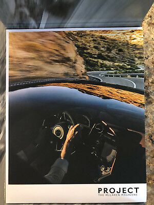 McLaren Project Magazine Book Issue #3 Brochure 66 pages NEW 675LT 650s 720s 570