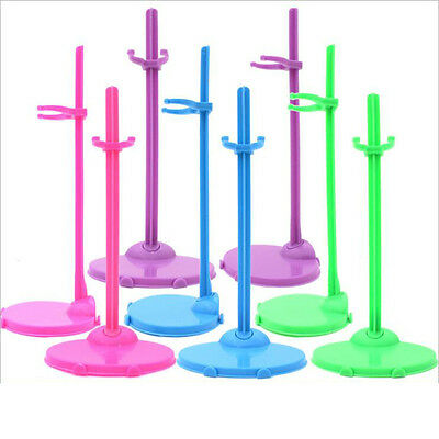4pcs/lot mixed Doll Stand Display Holder For Barbie Dolls/Monster High dolls PL