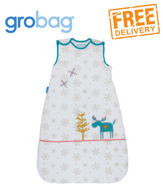 Grobag Baby Sleeping Bag - Mr Moose - 3.5 tog 0-6 months