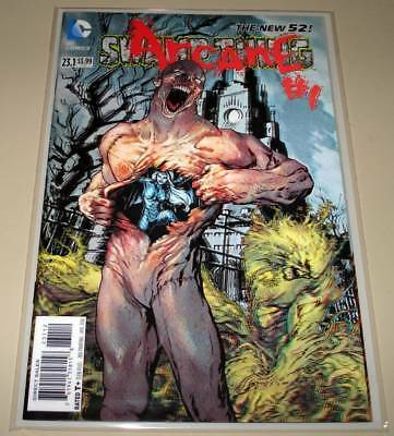 SWAMP THING # 23.1 DC Comic  NM April 2014  3D LENTICULAR COVER 2nd PRINTING