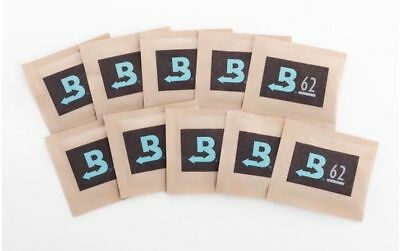 10 Pack Boveda RH 62% 8 Gram Humidity 2 Way Control Humidor