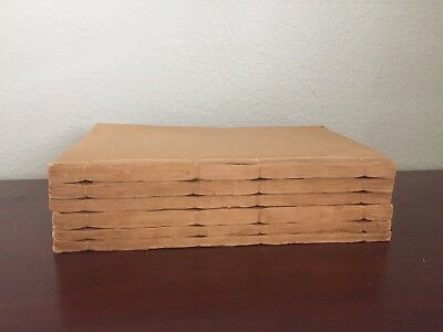 Rare Antique Chinese Qing Dynasty Woodblock Printed Books Set 李氏珍藏版《四書集注》