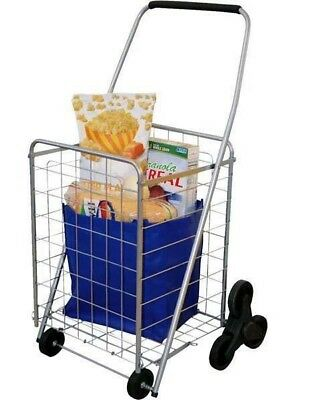 HELPING HAND FQ39905 3-Wheel Stair-Climbing deluxe Folding Cart