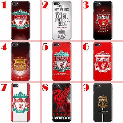 Liverpool Fc Football Club League Red Case Cover Skin For Apple Iphone Range