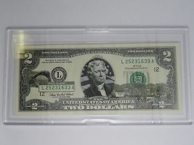 Utah 2003A $2 Two Dollar Bill  Federal Reserve Note Uncirculated