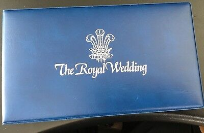 1981 Uncirculated Crown Coin Commemorating the Royal Wedding First Day Cover