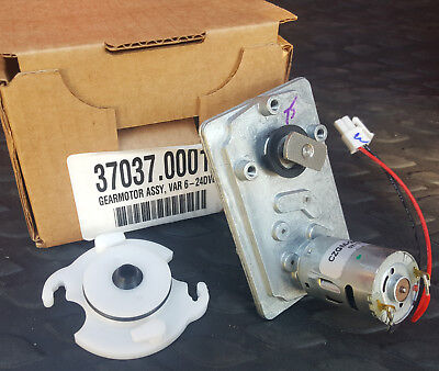 BUNN GEAR MOTOR ASSY 37037.0001 NEW OEM BOGO!! + FREE Receptacle W O-ring/shaft