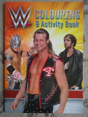 Wwe Wrestling Colouring & Activity Book - Brand New