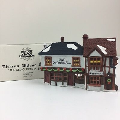 Dept 56 THE OLD CURIOSITY SHOP Dickens Village with Box - Item 5905-6 Christmas