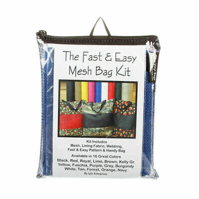 Fast and Easy Royal Mesh Bag Kit