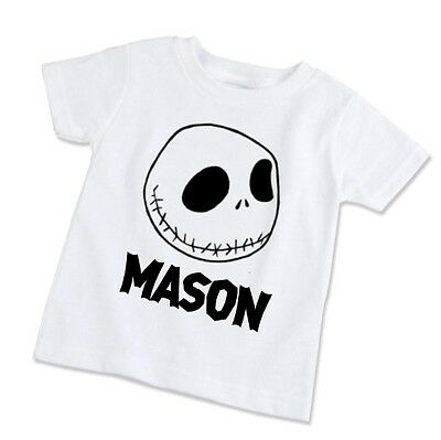 Youth Kids T-Shirt Tee Personalized Nightmare Before Christmas Jack Skellington