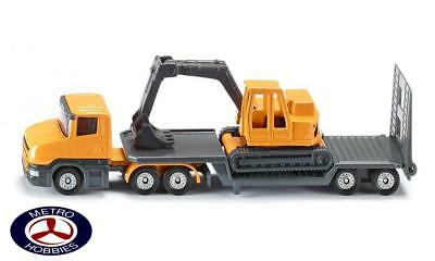 Siku Low Loader with Excavator SI1611 Brand New