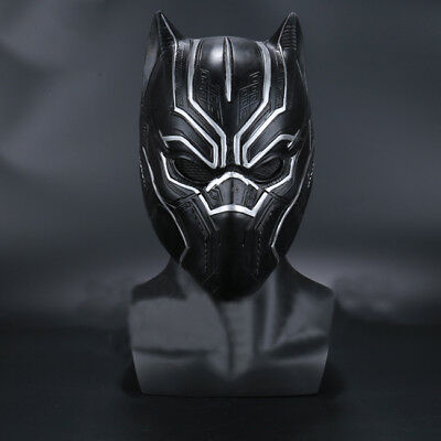 US! Movie The Avengers King of Wakanda (Black Panther)Cosplay Mask Props