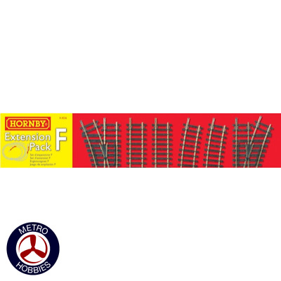 Hornby OO Extension Track Pack F HOR-R8226 Brand New