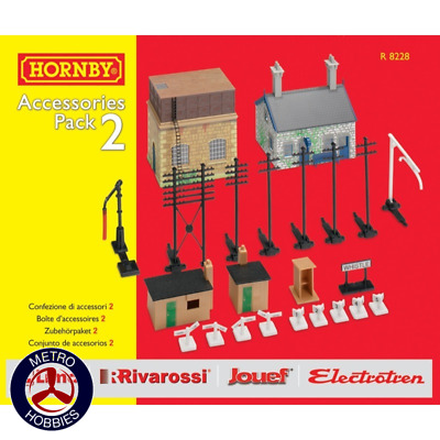 Hornby OO TrakMat Accessories Pack 2 HOR-R8228 Brand New