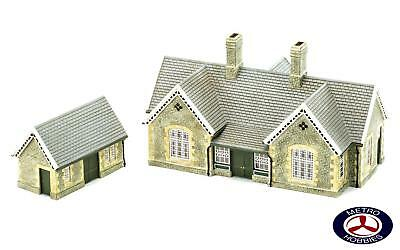 Hornby OO Granite Station Building HOR-R9836 Brand New