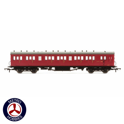 Hornby OO BR 58ft Maunsell Rebuilt (Ex-LSWR 48ft) Six Compartment Brake Third Cl