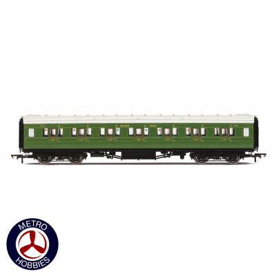 Hornby OO SR Maunsell Corridor First Class Olive HOR-R4770 Brand New