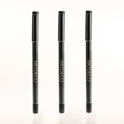 Artdeco Soft Eye Liner waterproof ★ 80 Sparkling Black  - 3x
