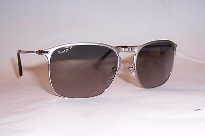 NEW Persol Sunglasses PO 7359/S SILVER/GREEN POLARIZED 1068M3 58mm AUTHENTIC