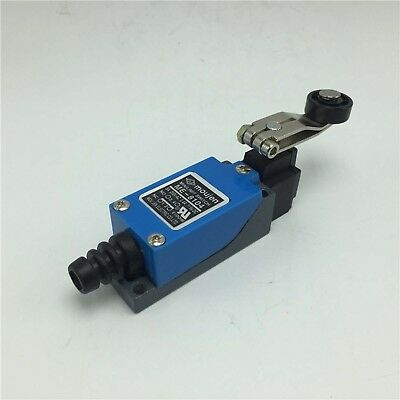 5Pcs ME-8104 UL Momentary Rotary Adjustable Roller Lever Limit Switch AC 250V 5A