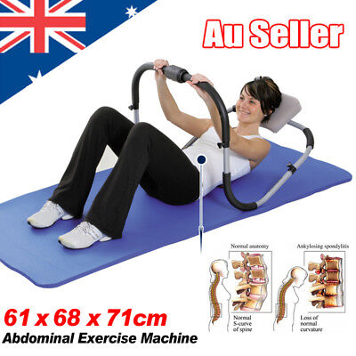 Abdominal AB Roller Machine Crunch Home Gym Exercise Workout