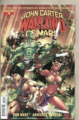 John Carter Warlord Of Mars #4-2015 nm- 9.2 Dynamite Standard cover Ed Benes