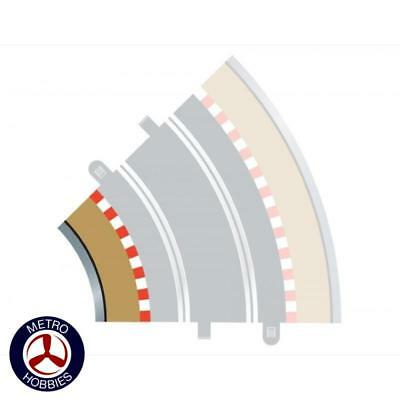 Scalextric Border and Barriers 45 Degrees Inner (for SCA-C8206) SCA-C8225 Brand