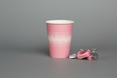 GIRLS BIRTHDAY PARTY PINK Paper Cups Kids Disposable Tableware Wholesale 500